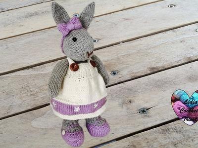 Amigurumi lapin tricot 3.3. Miss Bunny amigurumi knit (english subtitles)