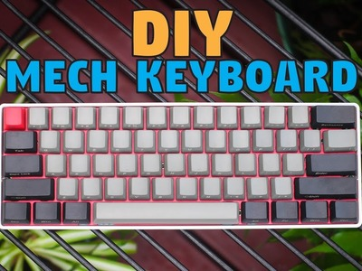 Beginner's Guide : How to Build a 60% Mechanical Keyboard