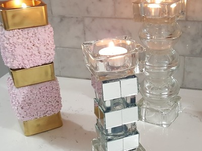 Budget Friendly Candle Holders