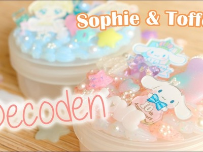 Cinnamoroll and Sailor Moon Decoden│Sophie & Toffee Subscription Box February 2017