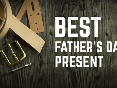 DIY LEATHER BELT KIT - Father's DAY SALE!!!