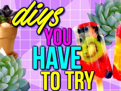 DIYs You HAVE to Try This Summer! | Courtney Lundquist