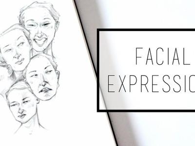 Drawing Facial Expressions · 30 Ways to Fill a Sketchbook · SemiSkimmedMin