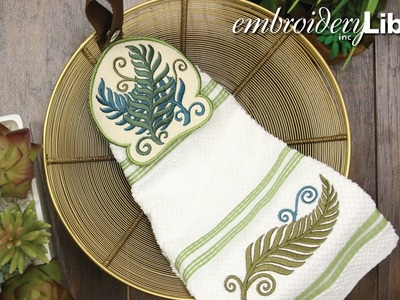 Embroidering Towel Toppers In the Hoop