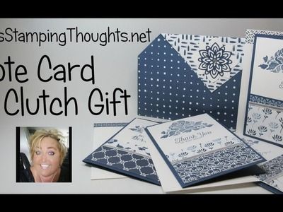 Floral Boutique Note Cards & Clutch Gift featuring Stampin'Up! Products