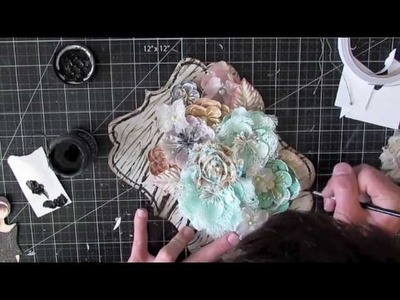 From Start to Finish :: Prima Doll Flower Door Hanger
