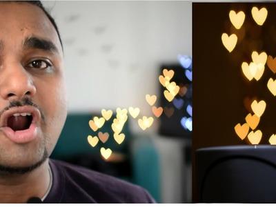 Heart Lights- Make Heart Bokeh Filter For Lens - How To