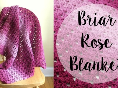 How To Crochet the Briar Rose Blanket, Episode 431