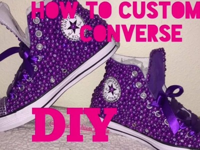 How to customize converse