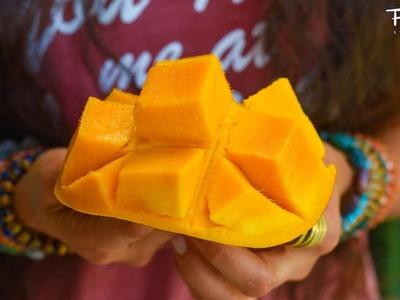 How to Cut a Mango in 15 Seconds!
