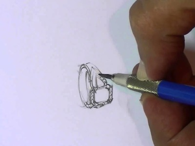How to draw a ring - #3