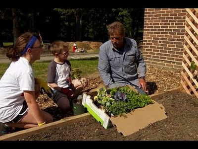 How to Install a Raised Vegetable Garden with Arbors - This Old House