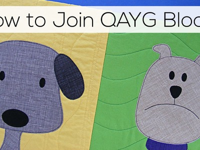 How to Join Quilt As You Go Blocks