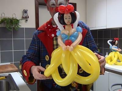 How to make a Snow White balloon