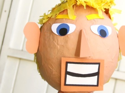 How To Make A Trump Piñata In 60 Seconds…