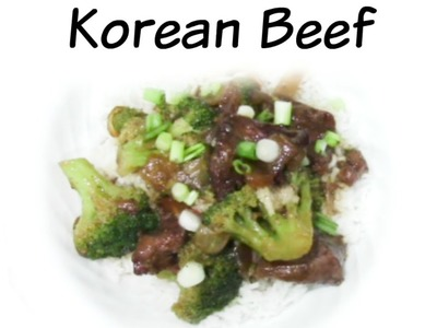 How To Make Crock Pot- Korean Beef