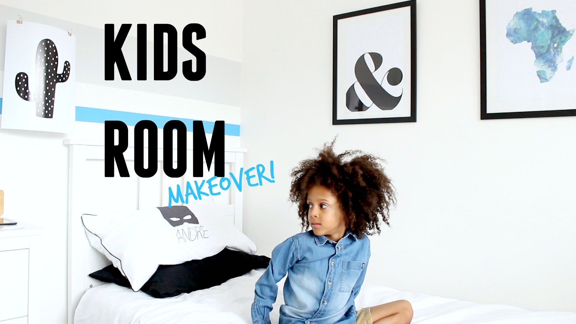 KIDS ROOM TOUR AND BEDROOM MAKEOVER