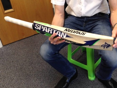 Looking After Your Cricket Bat - Part 1 of 3: How to Remove an Anti-Scuff Sheet