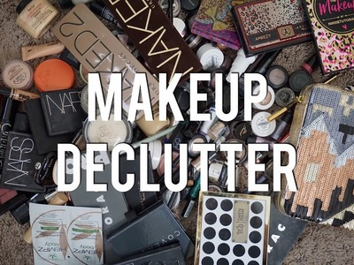 MAKEUP DECLUTTER! | My Entire Collection