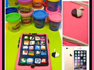 Play Doh How to make an Play-Doh iPhone Mobile Phone crafts