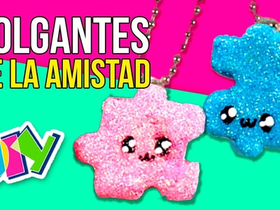 PUZZLE friendship NECKLACES * COLGANTES de la amistad PUZZLE ✅  Top Tips and Tricks in 1 minute