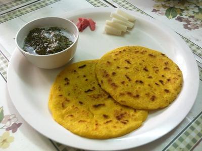 Sarson Ka Saag & Makki Ki Roti Recipe - Punjabi Recipe [In Hindi With English Subtitles]