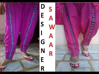 Self designed (kavya salwar) drafting, cutting and stitching full video DIY