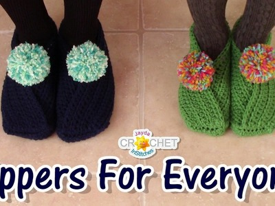 Slippers for the Whole Family!