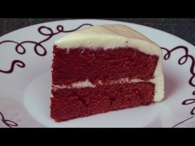 Valentine's Day Red Velvet Cake Recipe