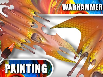 40K Airbrushing: Hexagon Energy Field Effect