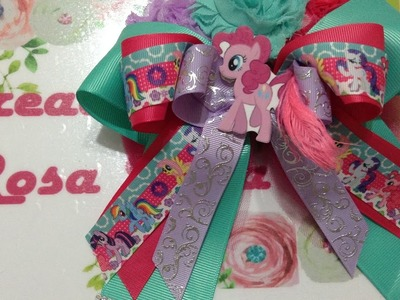 Boutique bow mi  little pony VIDEO No. 453 creacionesrosaisela