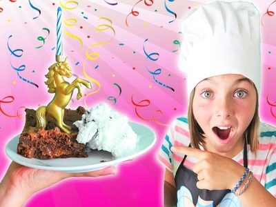 Chef Ava How To Make Knock Your Socks Off Brownies | Caramel Brownies Kids Cooking and Crafts