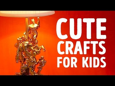 Cute crafts for kids that will keep them entertained l 5-MINUTE CRAFTS