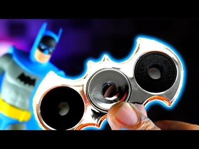 DIY BATMAN GALLIUM FIDGET SPINNER (How to Make Hand Spinners EASIEST WAY!) AND GIANT GIVEAWAY!