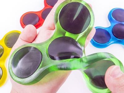 DIY How to Make Edible Fidget Spinner Gummy Jelly Baby Learn Colors for Children Kids