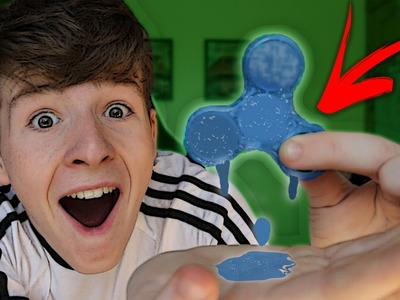 DIY *ICE* Fidget Spinner That ACTUALLY SPINS!!! How to Make COOL Ice Fidget Spinner Toy!!!