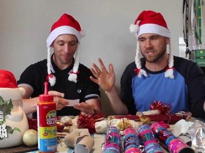 Fletch & Vaughan: How to make Christmas Crackers