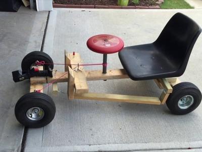 Go Kart- Drill Powered