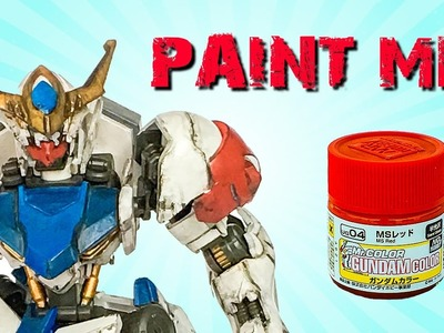 Gundam Painting Tutorial: How to Hand Paint Gundam with Mr Color by Lincoln Wright