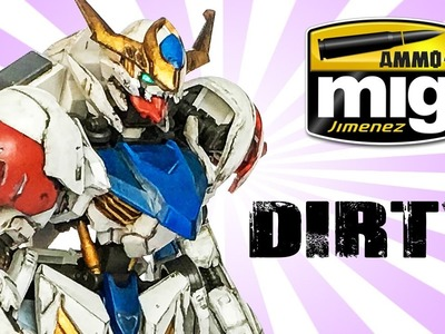 Gundam Painting Tutorial - Weathering How to with AMMO by Mig Jimenez by Lincoln Wright