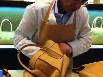 How the Tod's D Bag is Made!