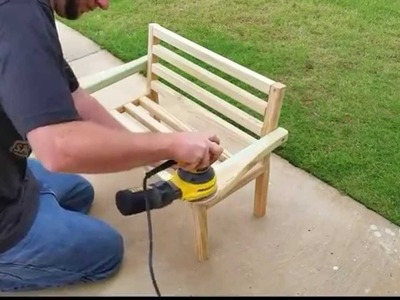 How to Build a Porch Bench for Kids