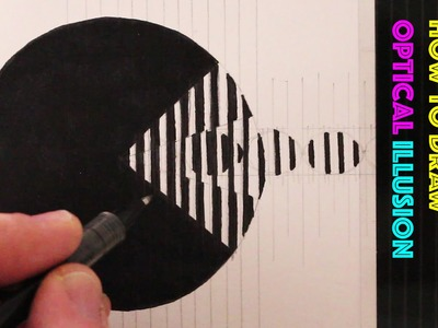 How to Draw Pac-Man: Animated Optical Illusion