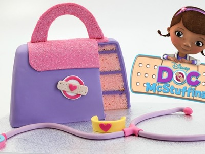 How To Make A DISNEY Doc McStuffins Cake - CAKE STYLE