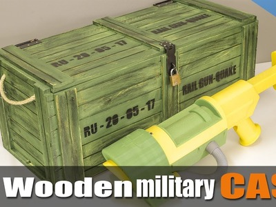 How to make a military style case