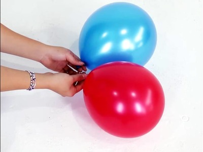 How to make balloon pillars