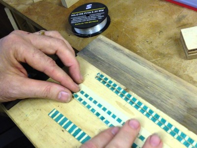 How to make herringbone for your guitar