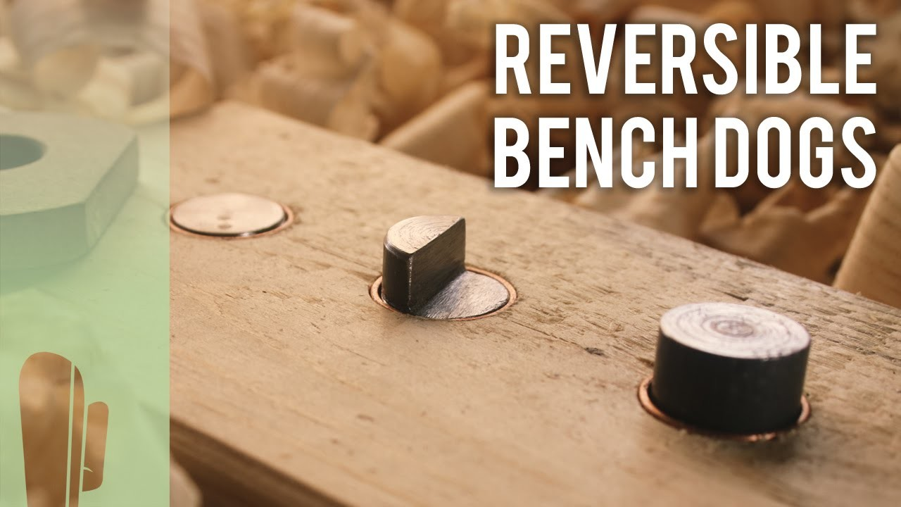 How to make reversible bench dogs
