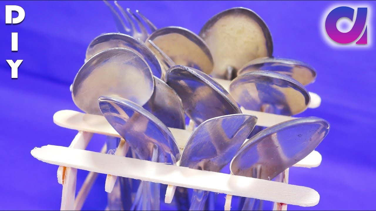 How to make Spoon Organizer | Kitchen Organization Ideas | Artkala 215