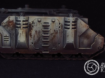 How to paint Weathering effects - HD Tutorial